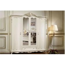 """MK-2707-WG. (FF6093) Шкаф 4-дверный с зеркалами """"Глория"""" (219х65х234 см)"""
