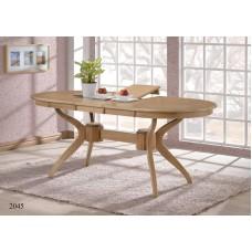 Обеденный стол 2045 (Дуб антик белый)