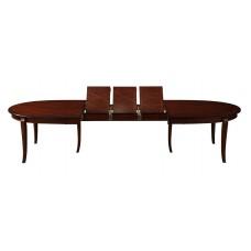 Обеденный стол KZ-T10EX3L Kenzo. Раз:240(357)120 см.