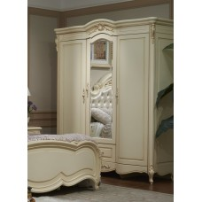 Шкаф 3-дверный с зеркалом Милано 8803-B
