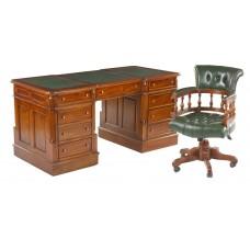 Стол письменный MJ-489, Кресло офисное CHO-001