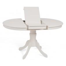 Стол Ts Olivia D106, Butter White (Ol-T4Ex(Av)) Шпон Ясеня