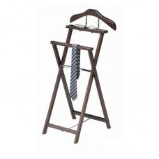 MK-2336. (VT-V-51) Вешалка костюмная деревянная складная (45х45х97h см)