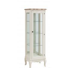 "MK-5050-AWB. 1-а дверная стеклянная витрина ""Florence"" (45x37x139 см)"
