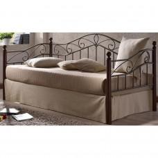 Кровать Melis MK-5234-RO (решетка металлическая), 95x200