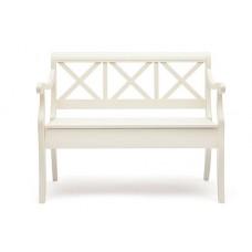 Скамья с ящиком «Альбицци» (Albizzi) (Белый)