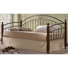 Кровать Doris MK-5235-RO (решетка металлическая), 95x200