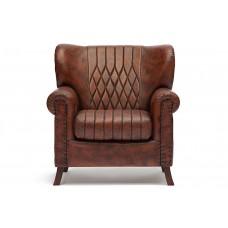 Кресло Secret De Maison «Чероки» (Cherokee) 9001 из натуральной кожи (Коричневый «Лофт»)