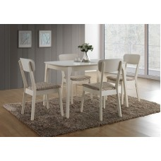Стол TS ENZO, BUTTER WHITE.Раз:80 х 120 х 75 см.