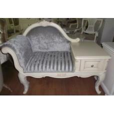 Кресло с телефонным столиком Милано 8802
